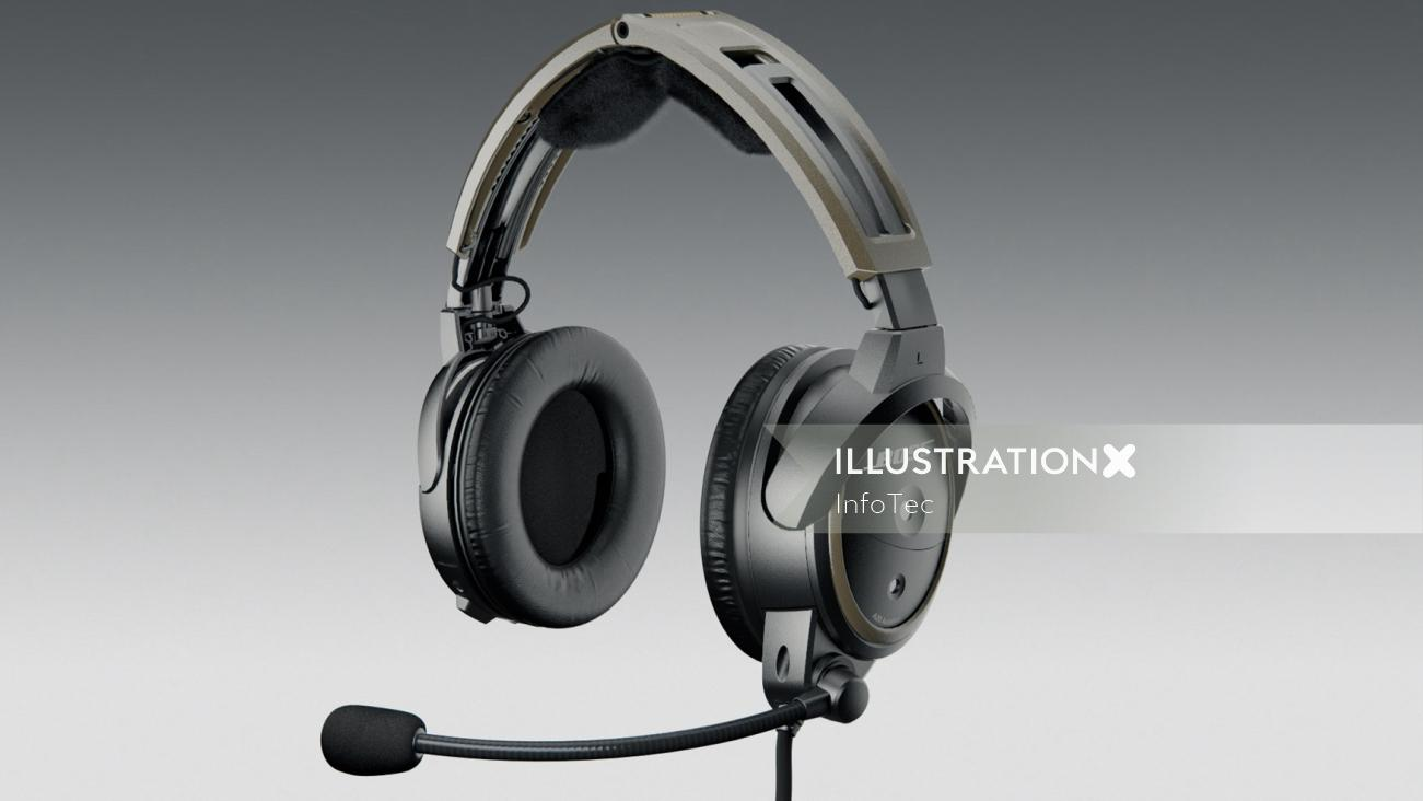 technical Aviation headset