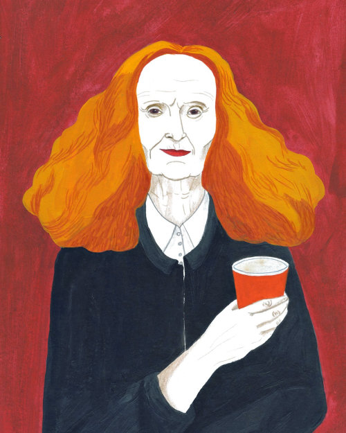 Portrait of Grace Coddingto