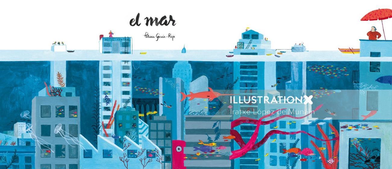 Cover illustration of El Mar