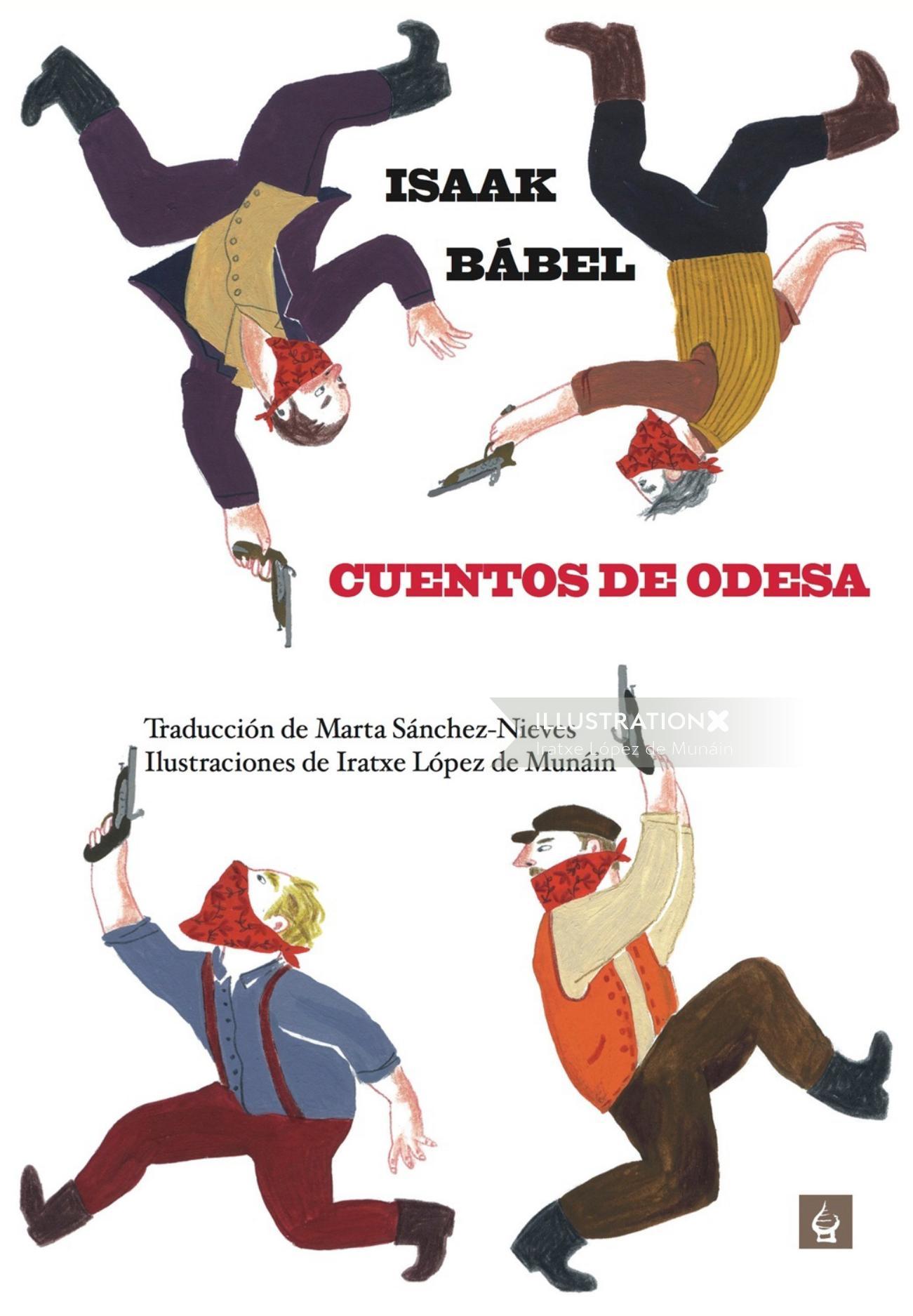 Cover illustration Cuentos de Odesa