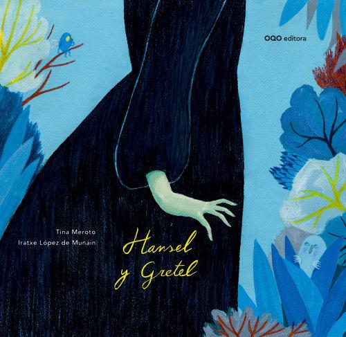 Design da capa do filme Hansel e Gretel