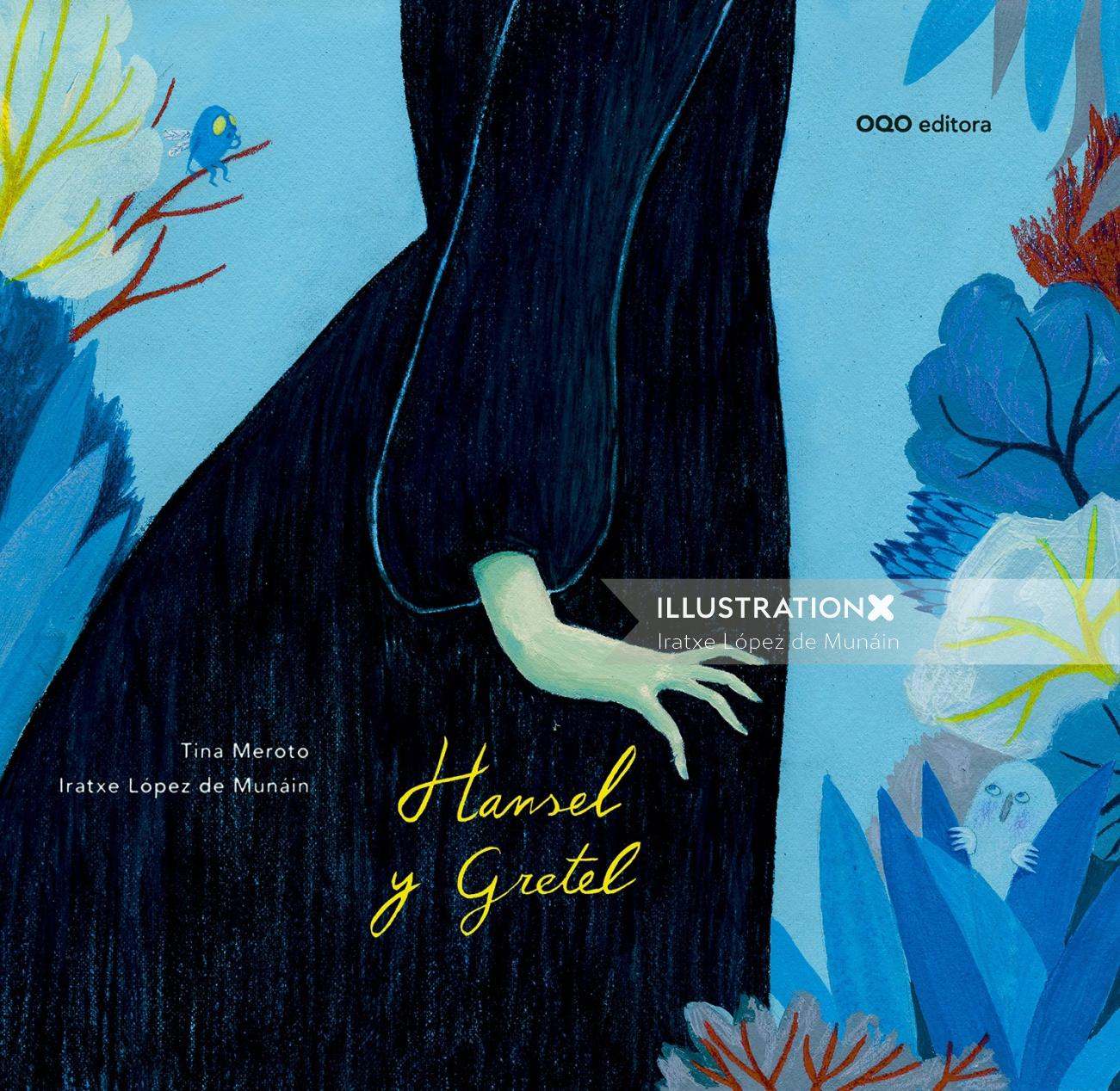 Cover design for Hansel and Gretel movie