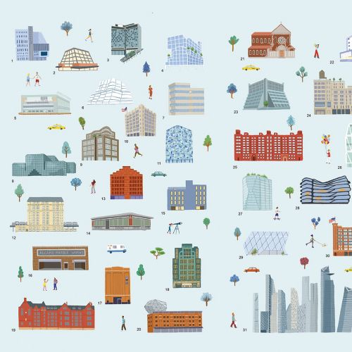Map icons illustration by Iratxe López de Munáin
