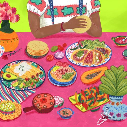 Iratxe López de Munáin 食品 Illustrator from Spain