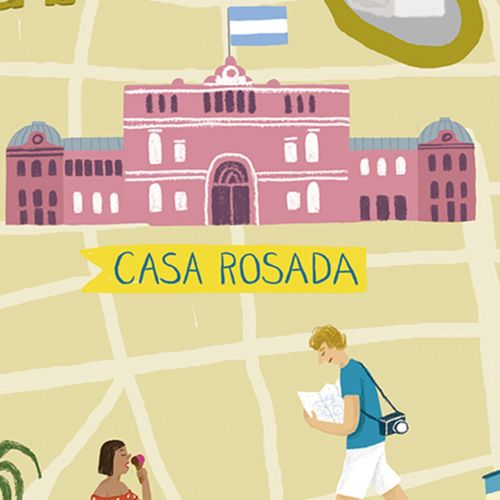 Lifestyle illustration of  Buenos Aires