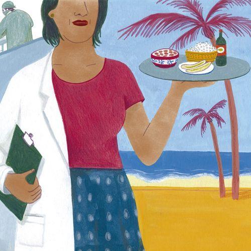Illustration of life in Cuba