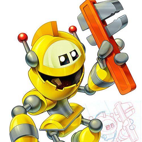 Graphic design of robot