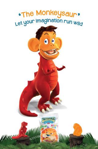 3D design of the Monkeysaurus