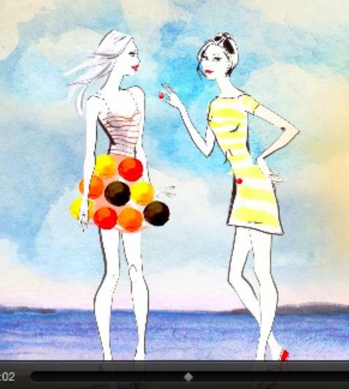 Animation de la marque Saveol Tomoatoes