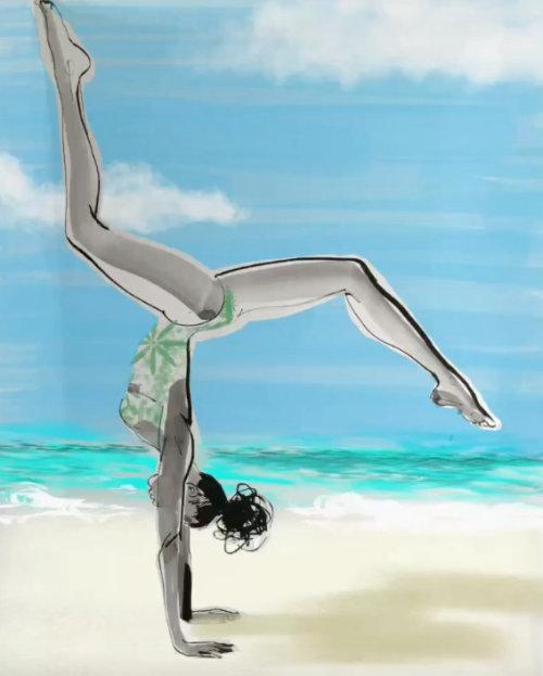 dessin modèle d'animation sommersault