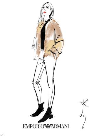 Live event Drawing By Jacqueline Bissett Illustrator