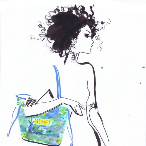 Line Art By Jacqueline Bissett