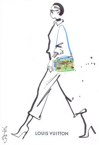 Line Artwork For Louis vuitton