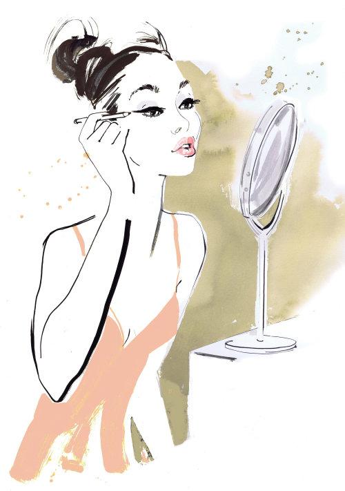 femme-maquillage