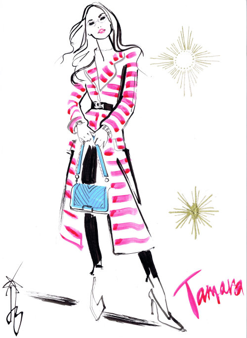 Tamara fashion model