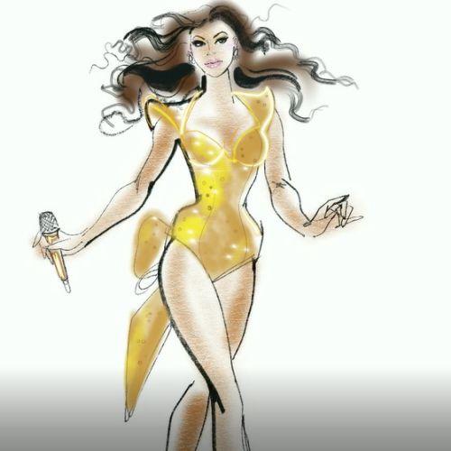 Beyoncé fashion Beauty singing