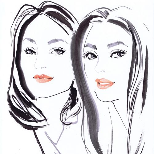 Jacqueline Bissett International fashion illustrator. UK