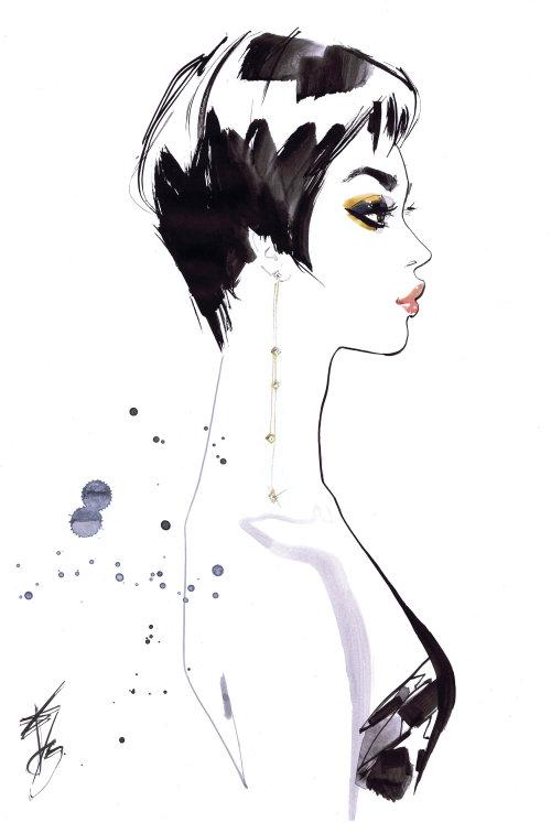 woman portrait for Frank online magazine