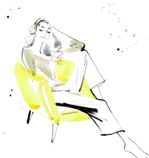 Fashion diva at Vogue Japan September 2019