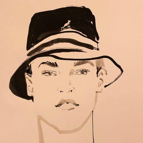 Jacqueline Bissett Portraits Illustrator from UK