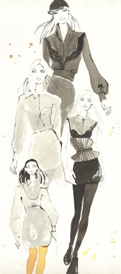 woman London Fashion Week handout