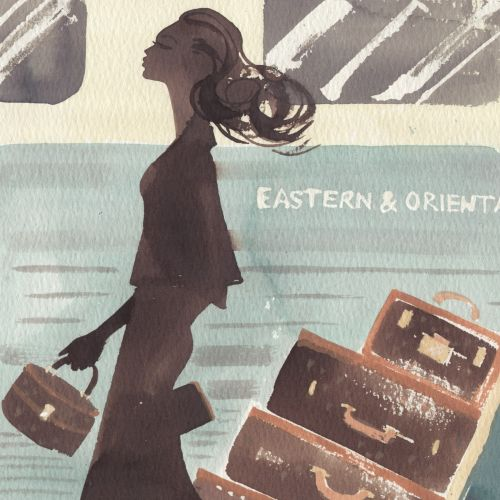 Illustration for Orient Express magazine