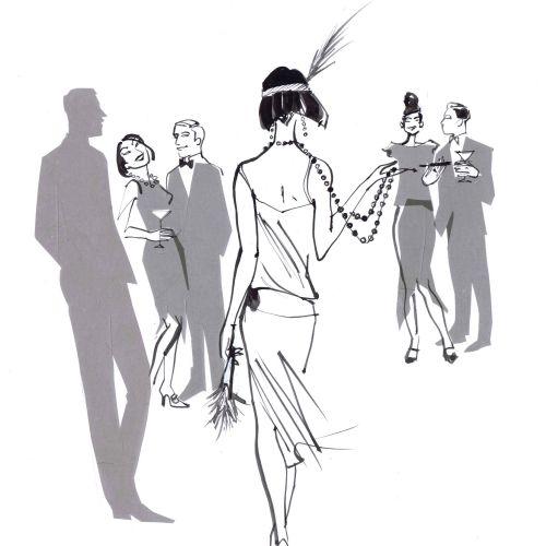 Julian Clary Brief Encounters back cover retro art