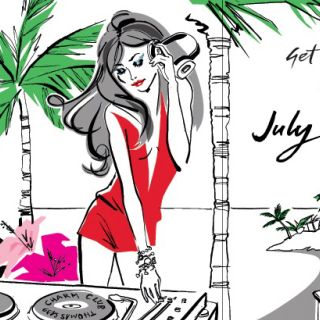Illustration for Thomas Sabo diary 2013