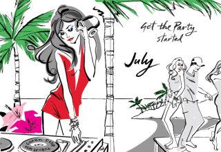 Illustration for Thomas Sabo diary 2013