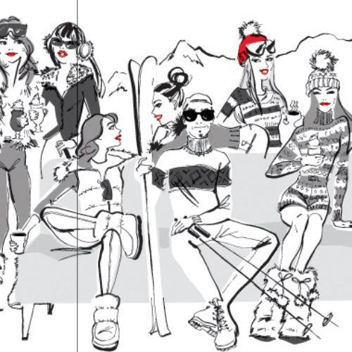 Friends Having Good time - illustration