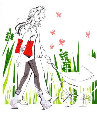 Illustration of Gurgle magazine