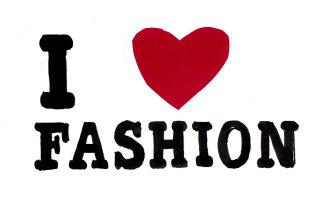 I Love Fashion - Lettering Design