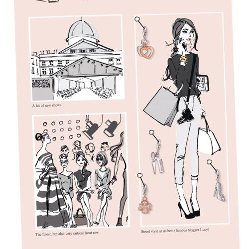 London Fashion show Thomas Sabo Catalogue 2013