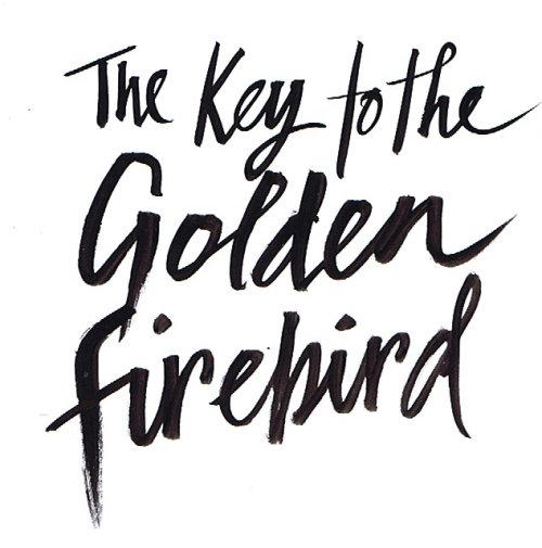 Une illustration pour Key to the Golden Firebird, illustration de la couverture du livre par Jacqueline Bissett