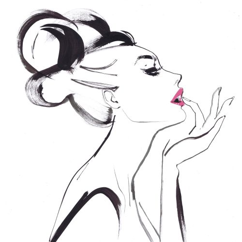 Illustration for Vogue Japan