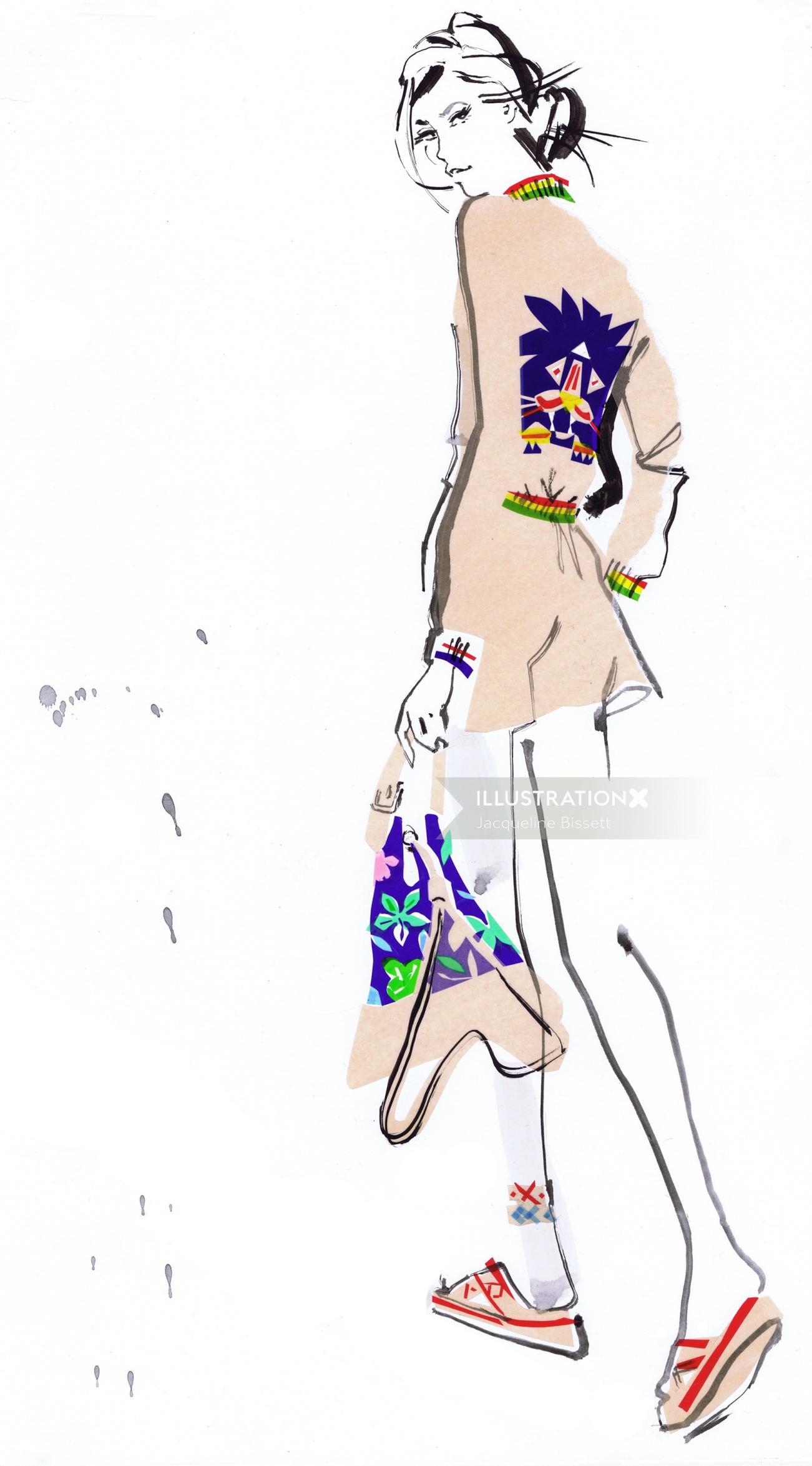 Illustration for Tommy Hilfiger