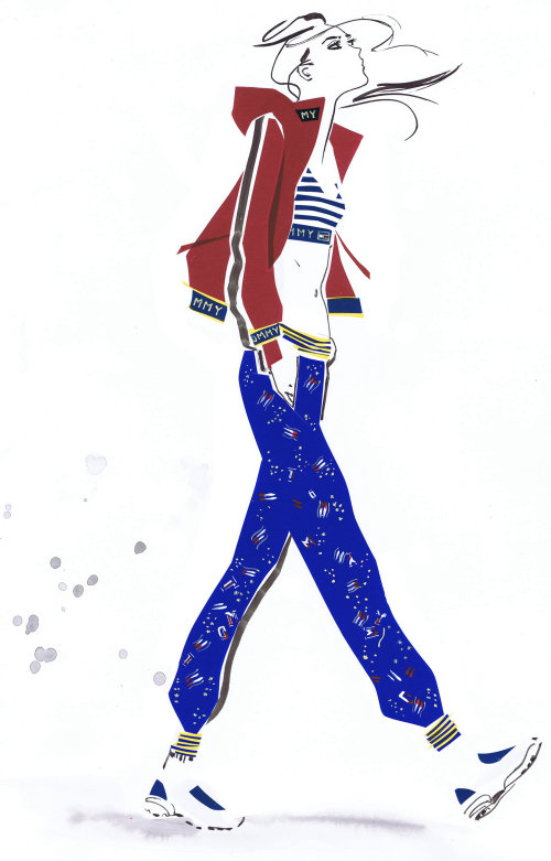 Illustration for Tommy women casuals