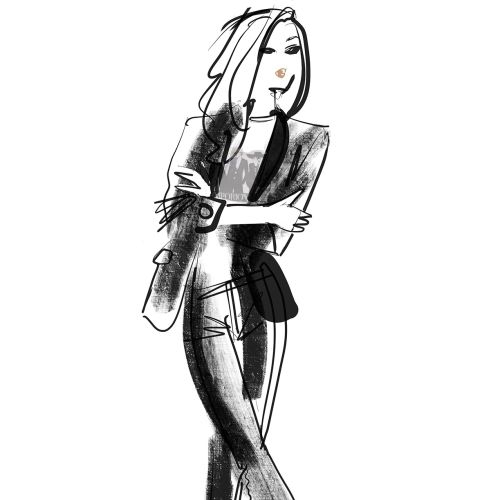 Emporio Armani event drawing