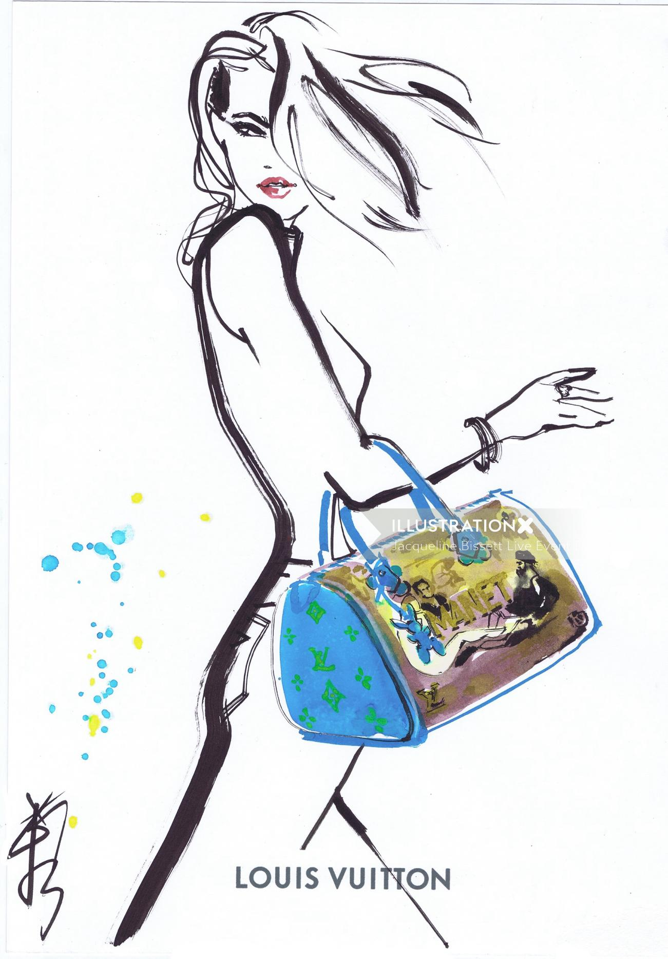 Louis Vuitton stylish bag