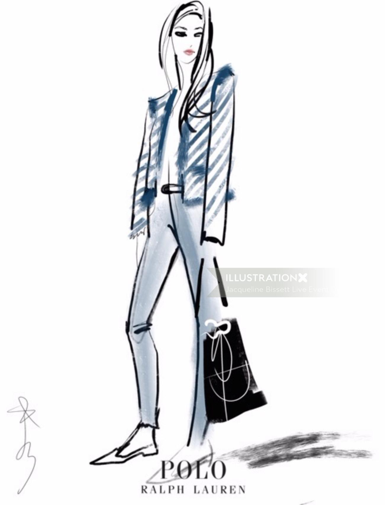 Polo Ralph lauren Live event drawing
