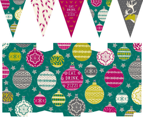Zizi's Contemporary Christmas materials