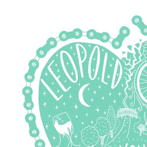 Conceptual Editorial Graphic Leopold