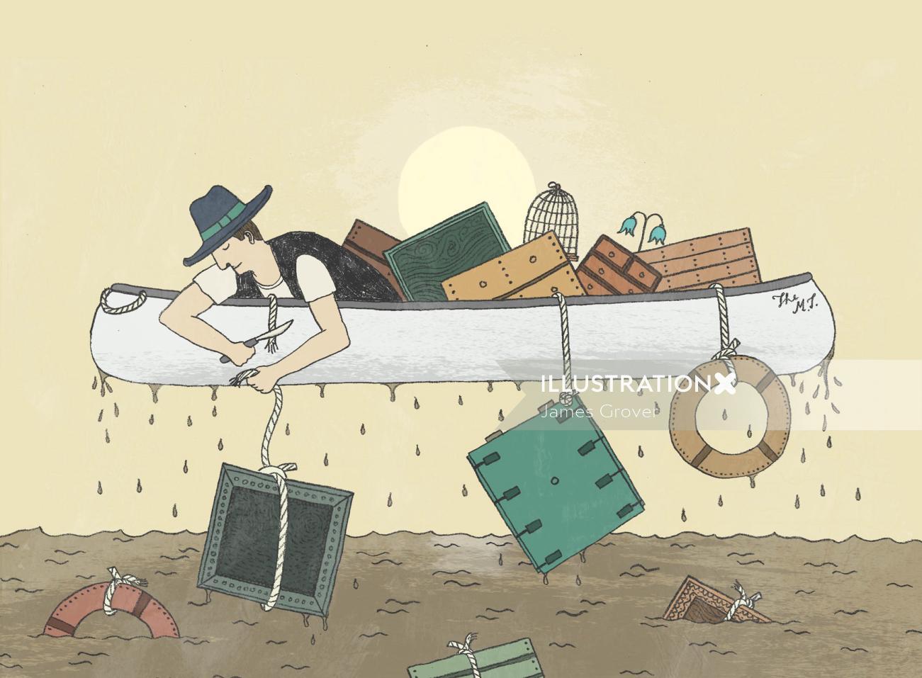 Losing Baggage Video animation