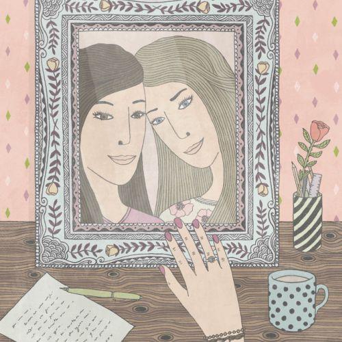 People art in Missed Sisters