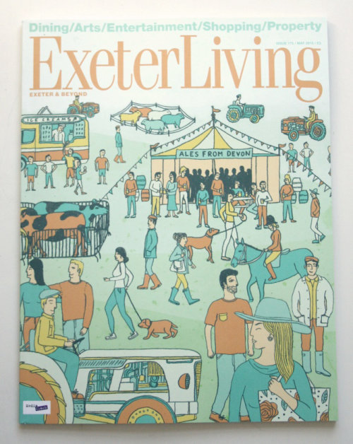 Cover art for Exeter Living book