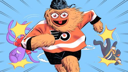 ESPN杂志的NHL球员池插图