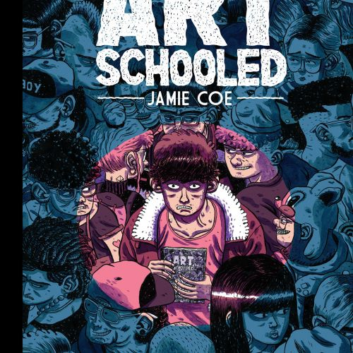 Book cover design of Art Schooled - Nobrow