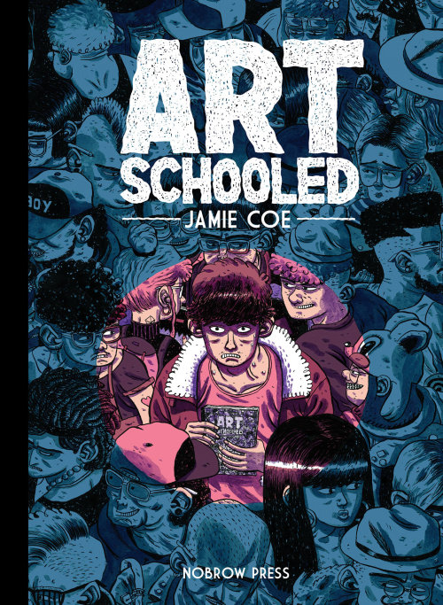 Conception de la couverture du livre d'Art Schooled - Nobrow