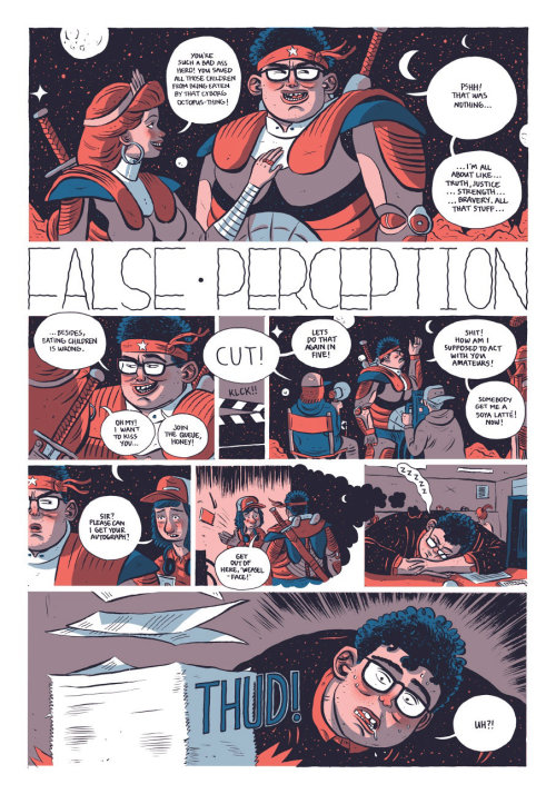 Comic False perception