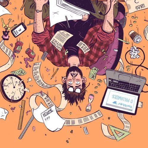 Computer Arts Magazine illustration